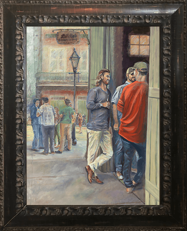 Meet at LaFittes original framed