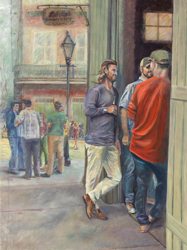 Meet at LaFittes Original Unframed