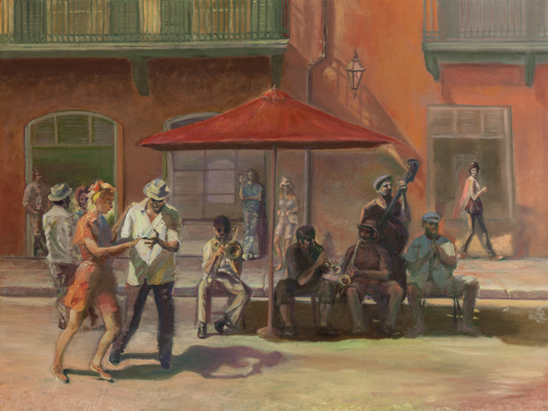 Missing New Orleans Original Unframed